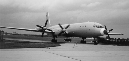 Germany's largest calibration aircraft - the Interflug IL 18